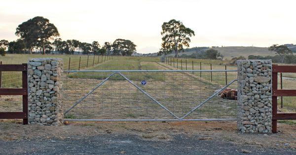 Simple Driveway Gate