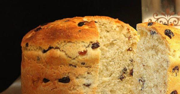 Italian Yeast Cake Recipes: Italian Sweet Christmas Bread With Dry Fruits