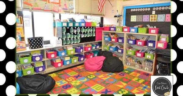 Erica Bohrer's First Grade: Photos of My First Grade Classroom. Great classroom