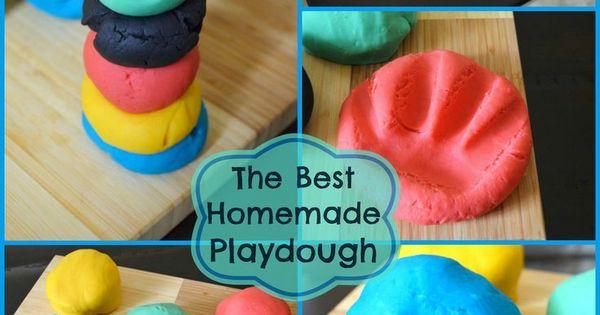 how to make playdough no cooking non toxic