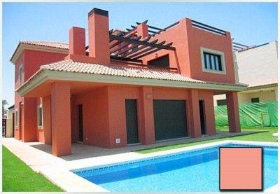 Actuales Y Modernos Colores Para Casas Exteriores Comex Fachadas De Casas Pinturas De Casas Casa Terracota