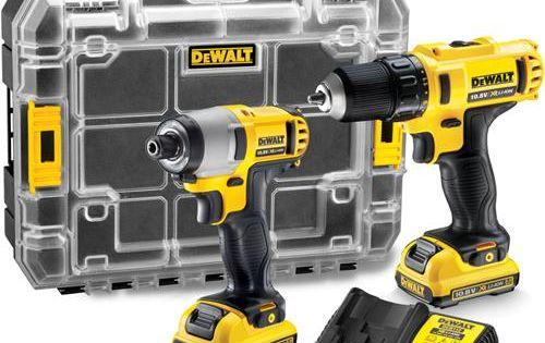Dewalt Dck211d2t 10 8v Drill Driver Impact Driver Set 2x 2ah Drill Driver Impact Driver Dewalt