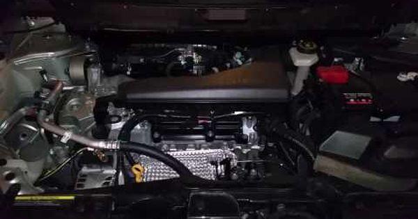 2014 2018 Nissan Rogue Suv Qr25de 2 5l I4 Engine Running After Oil Change Amp Filter Youtube Nissan Rogue Nissan Oil Change