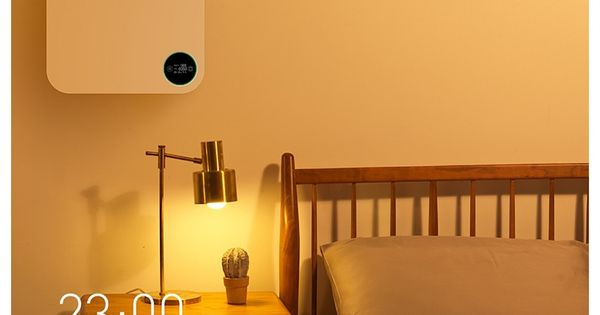 Intelligent Silent Wall Air Purifier With Images Home Air