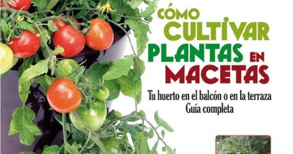Libro de jardiner a c mo cultivar plantas en macetas - Hogarutil plantas ...