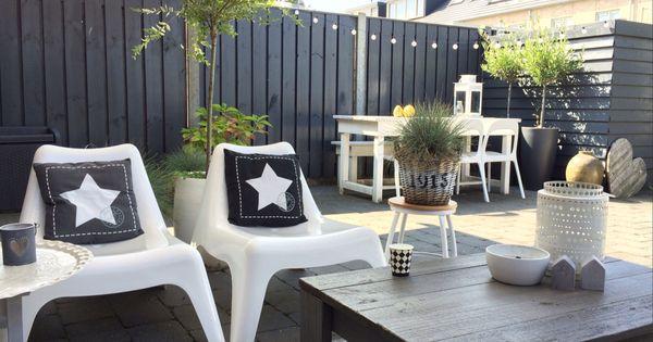 Woontrend zwart wit wonen ottonl garden
