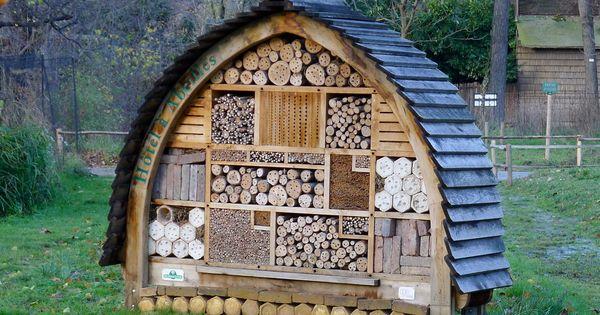 Insect house jardin des plantes paris france h tels insectes pinterest maison paris - Maison jardin des plantes nantes orleans ...