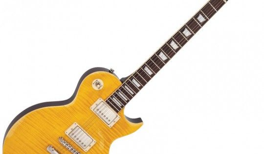 Vintage V100 Icon Electric Guitar Distressed Lemon Drop Vintage V100 Vintage Electric Guitars Electric Guitar