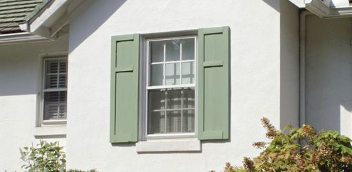 Choosing Shutters For Your Home Both Inside And Out Today S Homeowner Shutters Exterior Green Shutters House Paint Exterior