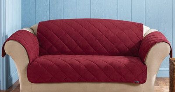 Sure Fit Soft Suede Sofa Slipcover Sofa Slipcovers At Hayneedle Slipcovered Sofa Loveseat Slipcovers Loveseat Covers
