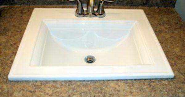 Shop Kohler Memoirs White Drop In Rectangular Bathroom Sink With Overflow At Lowes Com Rectangular Sink Bathroom Drop In Bathroom Sinks Top Mount Bathroom Sink