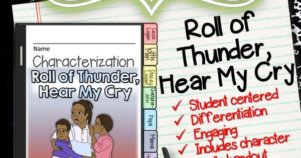 an analysis of tj from roll of thunder hear my cry Roll of thunder, hear my cry is a 1976 children's novel written by mildred d taylor it tells the story of a land-owning african american family living in a rural area of mississippi.