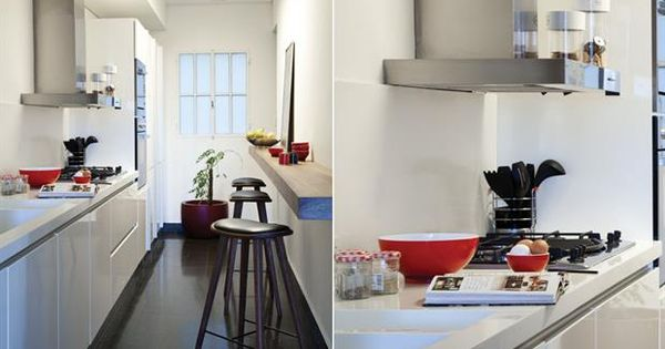 Ideas para una cocina de pocos metros banquetas servir - Banquetas de cocina ...