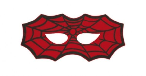 R ves merveilles felt spiderman mask masque de - Tete de spiderman a imprimer ...