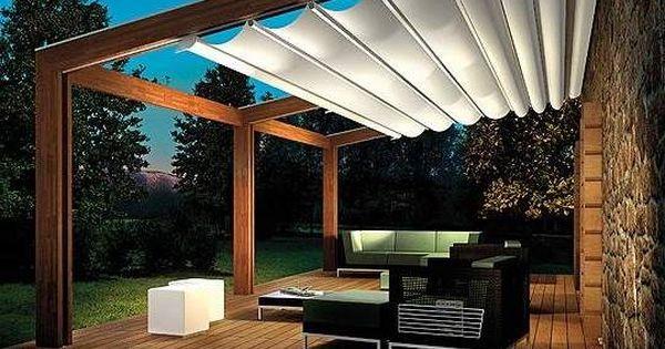 Canopy retractable roof pergola   Pergolas   Pinterest   Home, Design homes  and Boys - Canopy Retractable Roof Pergola Pergolas Pinterest Home