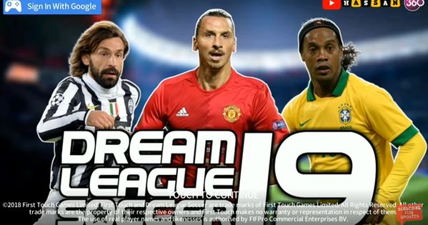 Download Dream League Soccer Dls 19 Mod Apk Beta V5 064 Legend Players Unlocked Game Download Free Player Download Download Games