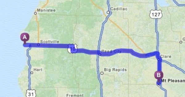 Official Mapquest Maps Driving Directions Live Traffic Driving Directions Manistee Ludington