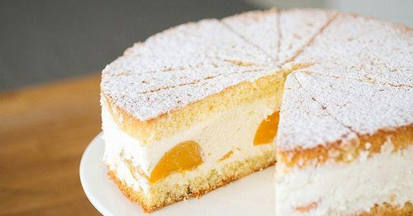 Kase Sahne Torte Ohne Gelatine Von Sallys Blog Kuchen Und Torten Torten Rezepte Kase Sahne Torte