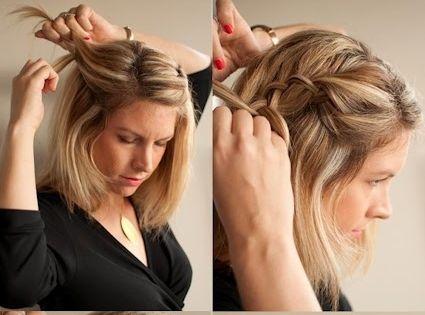 Cascade Braids for Medium-Length Hair!