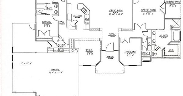 2500 sq ft one story floor plans 2 001 2 500 sq ft House plans 2500 sq ft one story