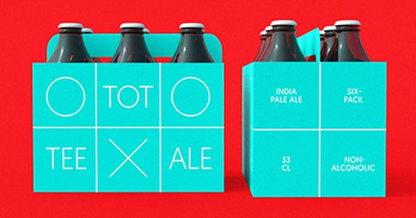 Tee Tot Ale Poster S Verpackung Design