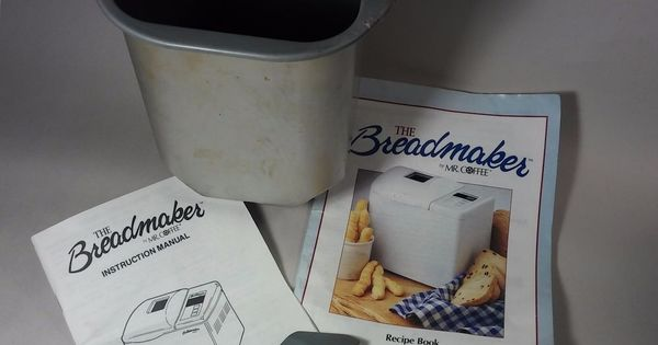 Breadmaker By Mr Coffee Recipes