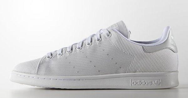 Adidas Originals Stan Smith / Superstar en tissu Weave   Sneakers ...