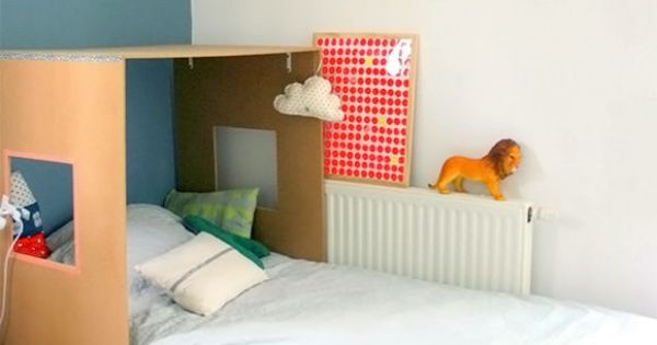 Fun and Simple Projects for Kids' Rooms: kids bed