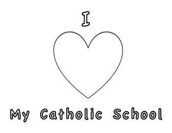 Catholic Schools Week 2016 Coloring Page Catholic Schools Week Catholic School School Week