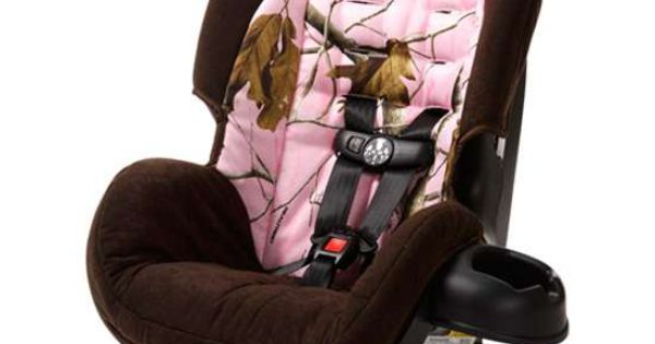 Realtree Pink Camo Cosco Scenera Convertible Car seat For the baby girl..