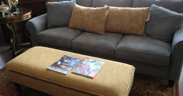Periwinkle Microfiber Couch : Furniture : Pinterest : Microfiber couch