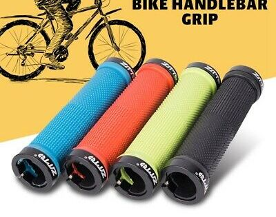 ZTTO MTB Road Bike Handlebar Grip Alloy Rubber Lock on Anti Slip Handlebar Grips
