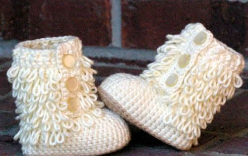 Baby boot crochet pattern. Possibly the cutest baby shoes ever.