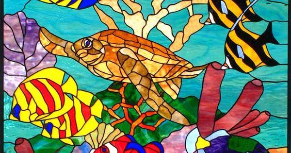 Sea of joy by barbara gustafson turtle and fish for Gustafson s smoked fish