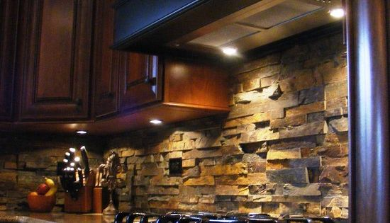 52 Stylish Kitchen Backsplash Design Ideas 2013 Pictures Like the darker cabinets