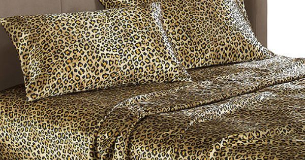 Satin Leopard Print Sheets Buying Them In The Next Couple