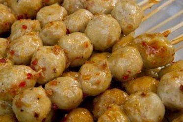 Cara Membuat Bakso Udang Tusuk Paling Enak Resep Resep Udang Resep Masakan Sehat