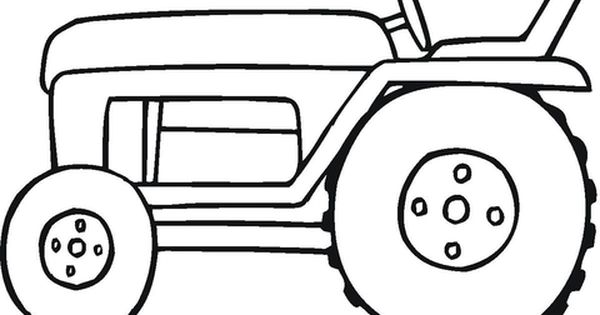Small Tractor Coloring Page Free Printable Coloring Pages Tractor Coloring Pages Farm Coloring Pages Coloring Pages For Kids