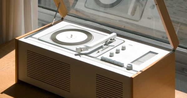 The Braun SK 6 Vinyl player