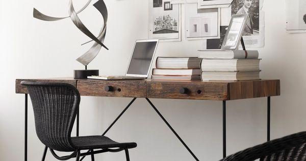 Bureau wright maison corbeil inspiration for Meuble bureau 974