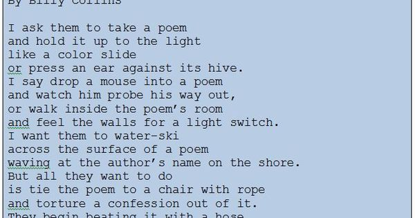 Ars Poetica Poems | Examples of Ars Poetica Poetry