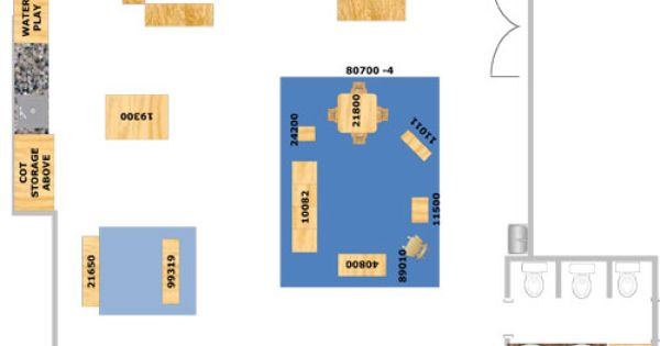 Vygotsky Classroom Design : Infant classroom design suggested layout for a