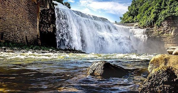 Love Lower Falls Photo Shared By Roberteichas Thisisroc Roc