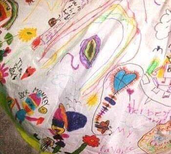 الانجليزية رايتشل مدرسة للرسم في محاوله منها لتشجيع تلاميذها ترتدي فستان ابيض وتطلب من تلاميذها الرس Teacher Dresses Student Teacher Gifts Student Drawing