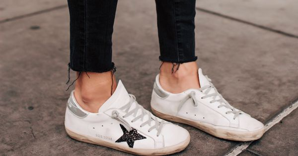 Golden goose sneakers outfit