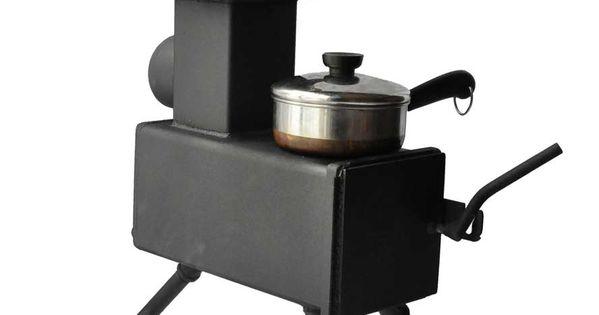 Bobcat rocket stove 888 1 337 pixels survival for Portable rocket stove heater