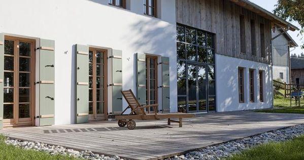 modernes bauernhaus fassade pinterest modernes. Black Bedroom Furniture Sets. Home Design Ideas