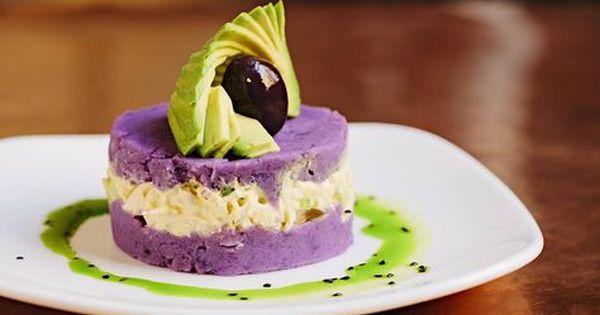 Causa Morada New Worlder Buffet Food Peruvian Recipes Peruvian Dishes