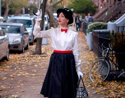 101 DIY costume ideas. - mary poppins costume