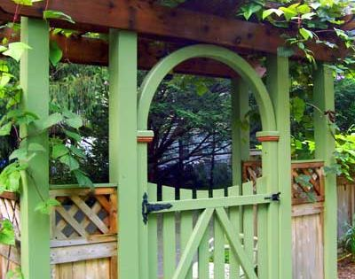 images of cottage garden ideas and arbors | this beautiful arbor gate